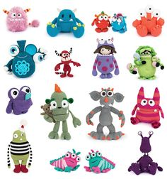Amigurumi Monsters - Amigurumipatterns.net
