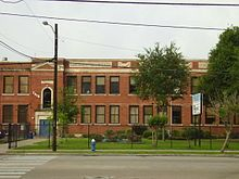 Yates was established on February 8, 1926, as Yates Colored High School with 17 teachers and 600 students. The school, at 2610 Elgin, was the second school for African-Americans established in Houston. The first principal, James D. Ryan, served from the opening until his death in 1941.Ryan Middle School exists at the first location of Yates Colored High School
