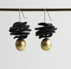 Ragtime Earring: Klara Borbas: Polymer Clay Earrings | Artful Home