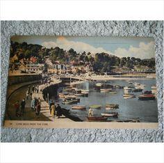 Vintage Postcard Lyme Regis from the Cobb 1958 (Good Condition) on eBid United Kingdom
