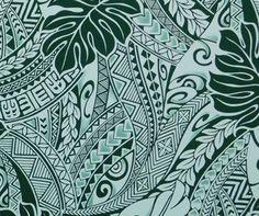 Tapa Fabric Hawaii, Polynesian Tattoo. Check it out at HawaiianFabricNBYond.Etsy.com  Aloha :)