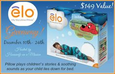 elo™ My Storytime Pillow Giveaway 12/24 US - Tales From A Southern Mom