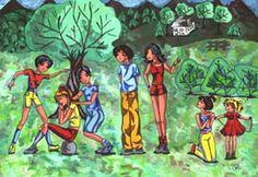 Children's Folk Games I*EARN Project * Traditional Children's Games