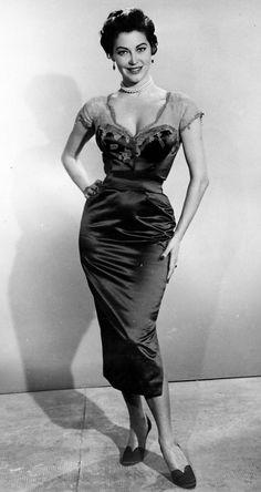 Ava Gardner, 50's.