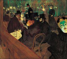 Henri de Toulouse-Lautrec, Au Moulin Rouge, 1892-1895