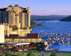 Couer d'alene Idaho...beautiful place ... miss it Soooo much! !!! Want to goo back! !