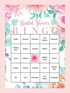 Bridal Shower Card Template Inspirational 10 Printable Bridal Shower Games to Diy Wedding Bingo, Bridal Shower Bingo, Bridal Bingo, Printable Bridal Shower Games, Wedding Shower Favors, Bridal Shower Decorations, Wedding Humor, Bridal Shower Invitations, Bridal Showers