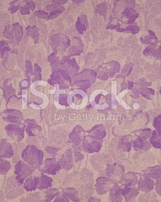purple paper with floral pattern royalty-free stock illustration