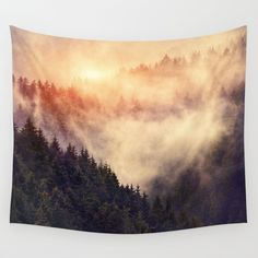 In My Other World Wall Tapestry by Tordis Kayma - Society6