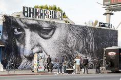 Letopho: Wrinkles of the City - Hunt for JR's Award Winning Street Art