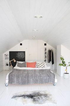 Planta en habitación. Ideas decoración #dormitorios