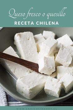 Queso Fresco Cheese, Queso Cheese, Cheese Mold, Cheese Maker, How To Make Cheese, Food To Make, Charcuterie, Chilean Recipes, Chilean Food
