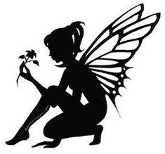PERGAMANO FAIRIES SILHOUETTES on Pinterest | Fairy Silhouette, Fairies ...