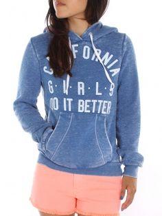 CA Girls Sweatshirt, Rebl Yell
