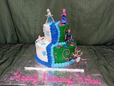 2 tier frozen cake