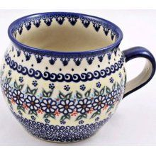 I've got one similar to this and thought it would be cool to collect some more Polish pottery mugs and hang them on wall hooks