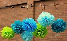 Image result for wedding decorated with paper flowers
