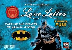 Love Letter Batman RRP $20 Good games