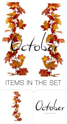 """""""October"""" by cookiesrule21 ❤ liked on Polyvore featuring art"""