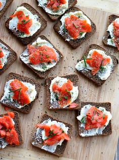 Smoked Salmon with Ginger Butter. Simple to put together but complex and super delicious! Freshly grated ginger root whipped into sweet, creamy butter pairs perfectly with thin slices of smoked salmon.