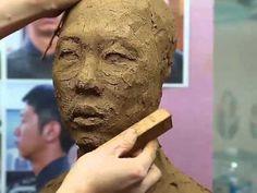맛깔점토_2014 천재돌_주제두상_웃고있는 중년 아주머니_2단계 - YouTube