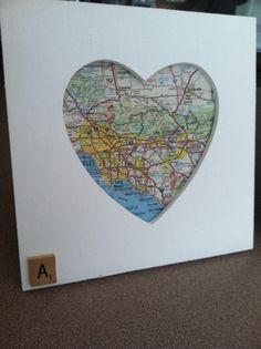 Where You Were Born Heart Shaped Frame, $10. Great birthday or anniversary gift!! :D