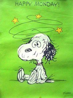 Snoopy : Happy Monday