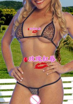 2015 women bikini sexy leopard mini micro bikinis swimwear swimsuit bra g-string thong underwear lingerie biquini