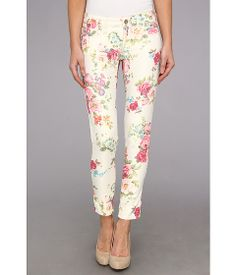 Mavi Jeans Serena Ankle in Blush Flower Printed Blush Flower Printed - 6pm.com