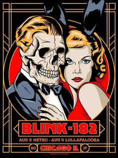 Blink-182 Poster - Chicago