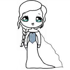 we heart it bff chibi template Elsa Drawing, Doll Drawing, Cute Girl Drawing, Drawing For Kids, Chibi Girl Drawings, Cute Cartoon Drawings, Princess Drawings, Love Drawings, Kawaii Crafts