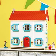 Tulip Doll's House - Wooden Toys - Toys & Gifts - gltc.co.uk