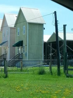 One of my favorite places and love these houses there too. Dauphin Island, Alabama!   Crazy little house