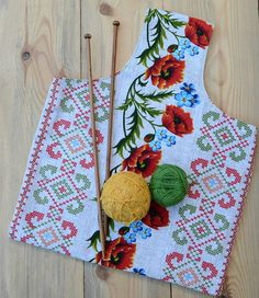 #Poppy #KnittingProjectBag  #Crochet bag #Project tote