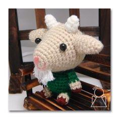 free crochet goat pattern | amigurumi goat pattern - the brave baby goat, gogi