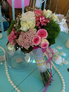 Wedding bouquet pink nice