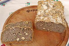 Veganes, glutenfreies Buchweizenbrot mit Nüssen und Samen (Rezept mit Bild) | Chefkoch.de