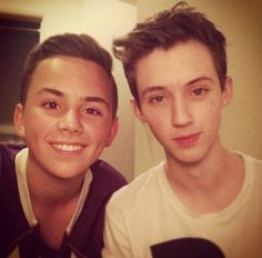 Tyde Levi and Troye Sivan - they are precious!!! #bless