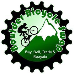 Boulder Bicycle Swap Logo designed by Code Iguana, Northern Colorado Graphic Design Company