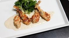 Frog Legs Almondine. Why not give it a try. Better than chicken ;-) Watch video & get recipe at how2heroes.com