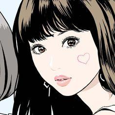 いいね!1,797件、コメント4件 ― 江口寿史 EGUCHI HISASHIさん(@eguchiworks)のInstagramアカウント: 「From this July. In Kichijoji sun road. Jun.2017 #illustlation #artwork #manga #bandedessinee…」