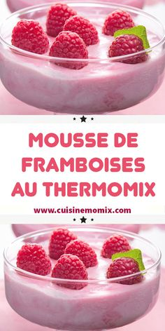 Discover recipes, home ideas, style inspiration and other ideas to try. Homemade Smoothies, Yogurt Smoothies, Healthy Smoothies, Healthy Fruits, Lidl, Healthy School Snacks, Raspberry Mousse, Thermomix Desserts, Sweet Recipes