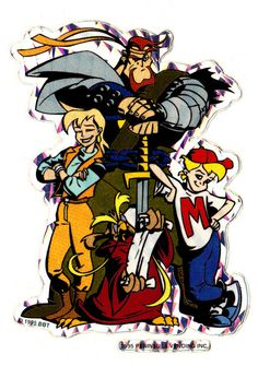 Mighty Max (1993 - 1995.it) http://en.wikipedia.org/wiki/Mighty_Max_%28TV_series%29