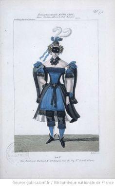 [Gustave III, opéra d'Auber et Scribe : travestissement espagnol / gravé par…