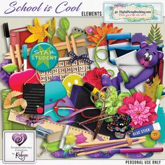 https://flic.kr/p/22Bx662 | Scrapbookcrazy Creations by Robyn - School Is Cool | This sweet digital scrapbook page kit, School is Cool by Scrapbookcrazy Creations by Robyn is available at Go Digital Scrapbooking (on sale for a limited time!).