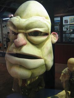 https://flic.kr/p/7gQNqe | Puppet | This large foam puppet was in the display of Terrapin Puppet Theatre puppets at the 2006 National Puppetry Summit in Hobart. It was made by Greg Methe in 1997 for the production The Fork.