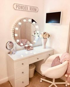 Image uploaded by gabidino. Find images and videos about make up, mirror and decorations on We Heart It - the app to get lost in what you love. Furniture, Retail Furniture, Interior, Small Girls Bedrooms, Bedroom Decor For Women, Cheap Home Decor, Home Decor, Makeup Room Decor, Cheap Dorm Decor