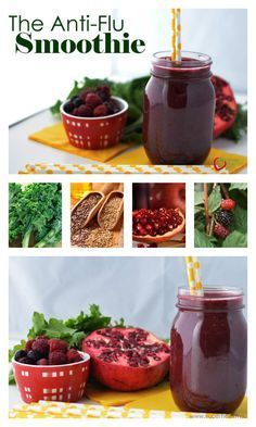 The Anti-Flu Super Smoothie for Kids - Our immune boosting daily vitamin- SUPER SMOOTHIE! http://www.superhealthykids.com/the-anti-flu-super-smoothie-for-kids/