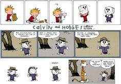 Calvin and Hobbes Comic Strip, November 17, 2013 on GoComics.com