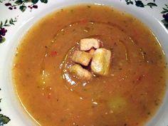 Minestra di fine estate. Scopri la ricetta su www.ilsalottoculinario.it